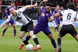 Jay Rollins in action at Hereford last season. Photo: Eric Brown.