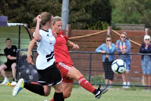 Gemma Worsfold hit a hat-trick against Herne Bay