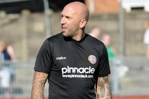 Worthing boss Adam Hinshelwood. Picture by Stephen Goodger