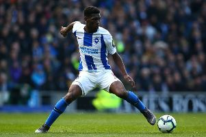 Yves Bissouma is set to start for Brighton against Aston Villa in the Carabao Cup (getty)