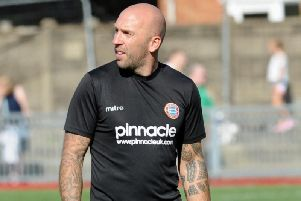 Worthing manager Adam Hinshelwood. Picture by Stephen Goodger