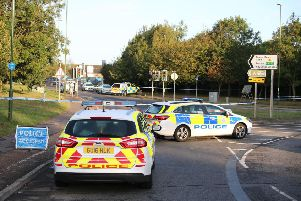 The A259 in Littlehampton was closed off on Monday following the incident