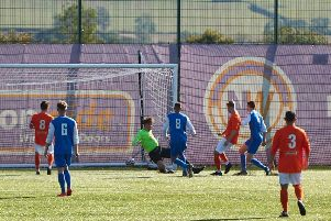 Tom Rawlings scores against Hathern