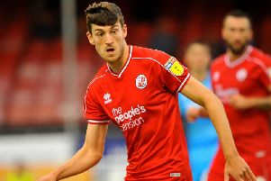 Ashley Nadesan was on the scoresheet when Crawley Town triumphed over Walsall in the Carabao Cup back in August. Picture by Steve Roabrds
