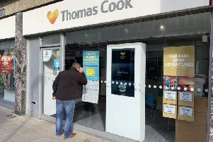 Thomas Cook in Chapel Road, Worthing has closed