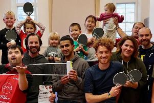 Worthing Ping United received �1,500 for community trial sessions