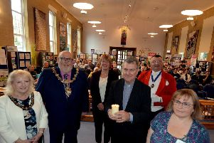 Last year's launch of Worthing Mental Health Awareness Week at Offington Park Methodist Church. Picture: Kate Shemilt ks180492-1