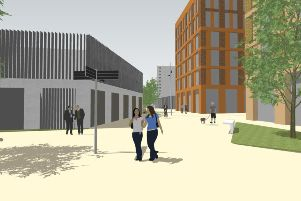 An artist's impression of how the Union Place development could look SUS-191031-090324001