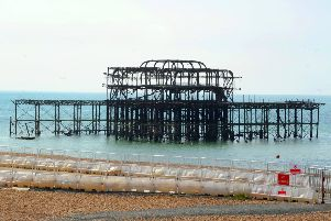 West Pier was immensely popular for more than a century