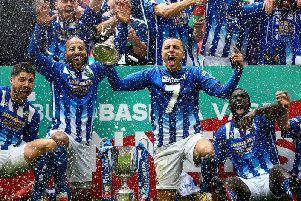 Last season's FA Vase winners Chertsey Town. Picture courtesy of Getty Images
