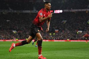 Marcus Rashford was on top form for Manchester United against Brighton at Old Trafford
