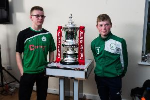 The FA Cup draw at Chichester City. Picture by Daniel Harker
