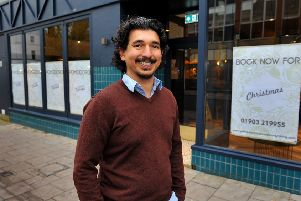 Memet Ugur's  new restaurant in Chapel Road. Pic Steve Robards SR15111901 SUS-191115-195733001