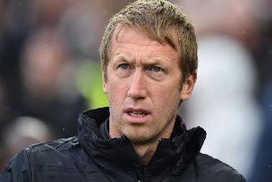 Brighton and Hove Albion manager Graham Potter could be without two of his attacking talents for this Saturday's match against Leicester City
