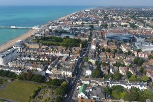 Worthing town centre