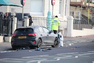Three men were runover in Marine Parade, Brighton, not terror related - Photo by Eddie Mitchell