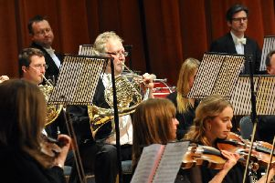 WSO Children's Concert - orchestra action - horns - by Stephen Goodger