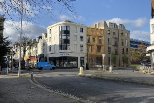 A CGI image of what the expansion of Colonnade House, on the corner of Warwick Street and High Street, Worthing, might look like. Picture: Worthing Borough Council