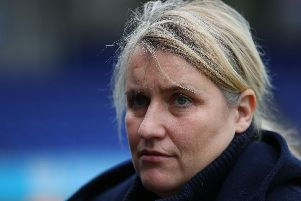 Emma Haye's taking charge of Chelsea for the 200th time.