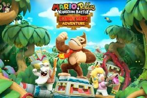 The Donkey Kong Adventure expansion could pass for a sequel