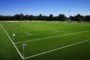 The new artificial all-weather pitch at Horsham Rugby Club