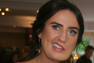 A more recent photo of Amy Mullan after numerous reconstructive surgeries