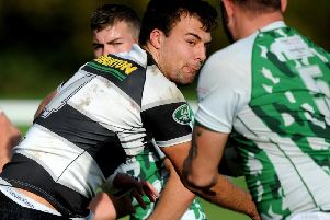 Horsham v Pulborough Rugby SR1726059 - Sam Beesley. Pic Steve Robards SUS-171228-105904001