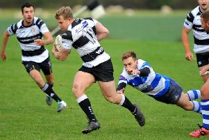 Action from Saturday's game. Picture by Steve Robards