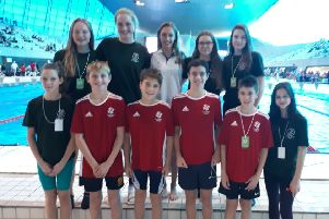Atlantis Swimming Club members that represented their schools at the ESSA National Relay Championships