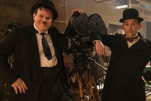 Stan and Ollie is released in cinemas on January 11 - credit entertainment one