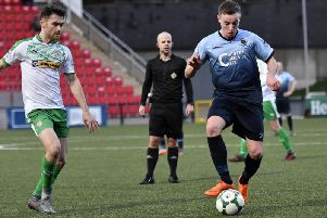 Institute's Aaron Harkin will join Cliftonville next season, after signing a pre-contract with the Belfast men.