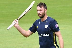 James Vince Picture: Neil Marshall