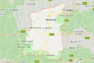 Horsham District, credit Google Maps