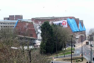 The demolition of Greyfriars Bus Station