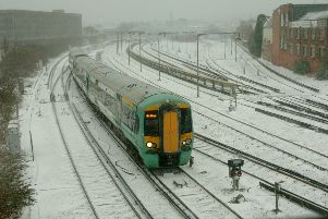 Southern Rail has warned of delays ahead of predicted snow fall in Sussex