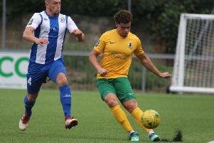 Horsham's Joe Taylor. Picture by John Lines
