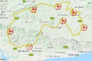 Velo South route