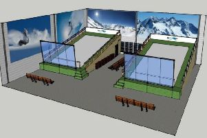 Proposals for a new ski training centre in Small Dole
