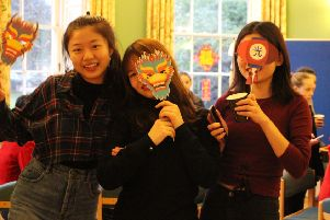 Pupils celebrated Chinese New Year