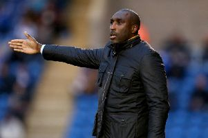 Macclesfield boss Sol Campbell (Photo by Jordan Mansfield/Getty Images)