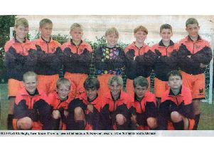 A cutting of the very first Rugby Town team, when as U11s they had a 100% record in the Northants Youth Alliance