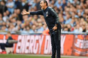 Chelsea manager Maurizio Sarri. Picture: Getty Images