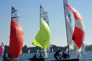 Spectacular Snowflake action at Chi YC / Picture by Dan Hughes