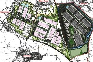 How the two proposals would look if given permission