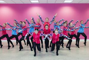 The 16 dancers - aged 11 to 20 - have been fine-tuning their dance for almost two years. Pictures: Kirsty Edmonds.