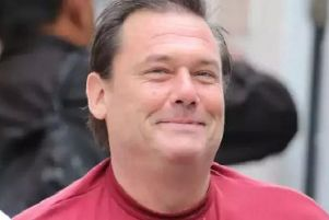 Robert Trigg, pictured arriving at Lewes Crown Court last year, after being found guilty of murder and manslaughter