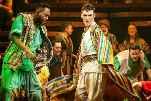 Joseph and the Amazing Technicolour Dreamcoat - picture by Pamela Raith