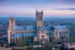 A photograph of Lincoln Cathedral - just one of many examples of a suitable photograph for the competition.