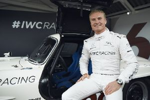 David Coulthard (Photo by Jack Terry for IWC)