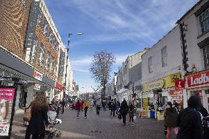 There were 12 incidents of violent or sexual offences on or near Abington Street.